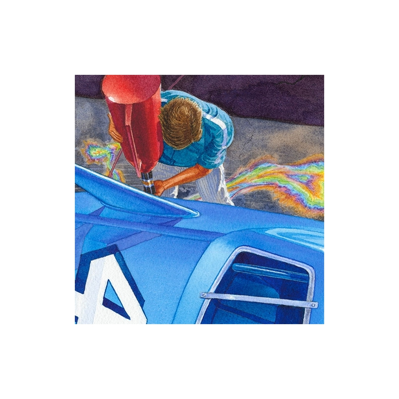 Details: Givin' Petty's Superbird some gas.