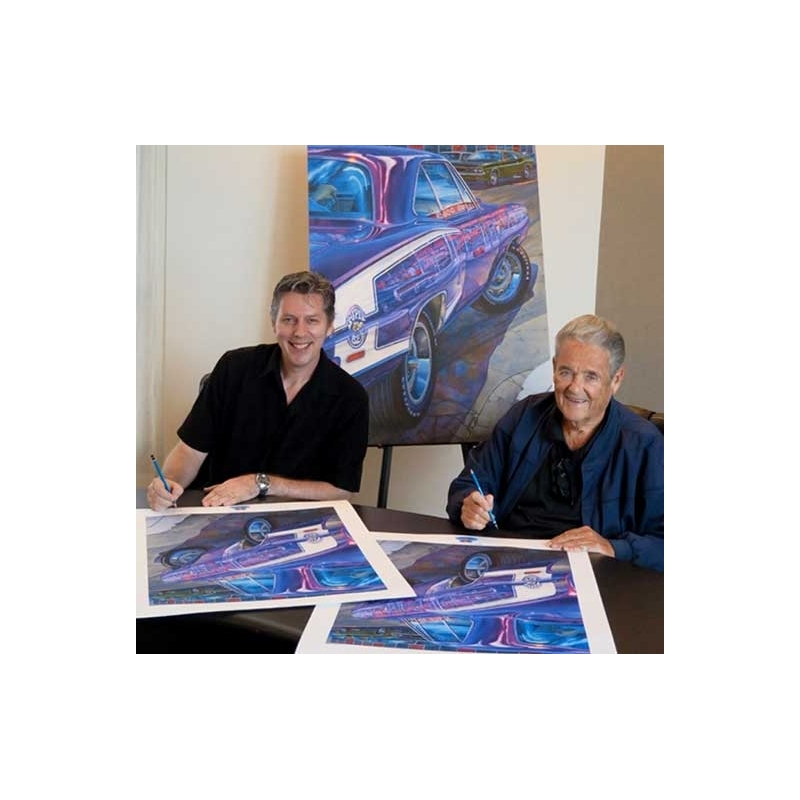 Michael Irvine & Mr. Norm cosign the Special Edition. (SOLD OUT)