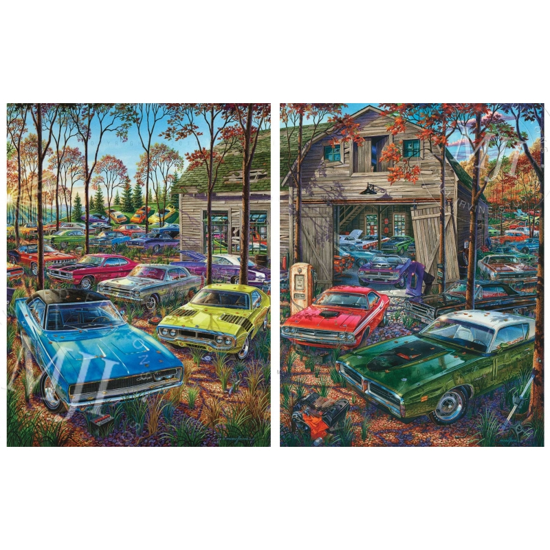 """Mopar Farm Numbers Matching Set"""