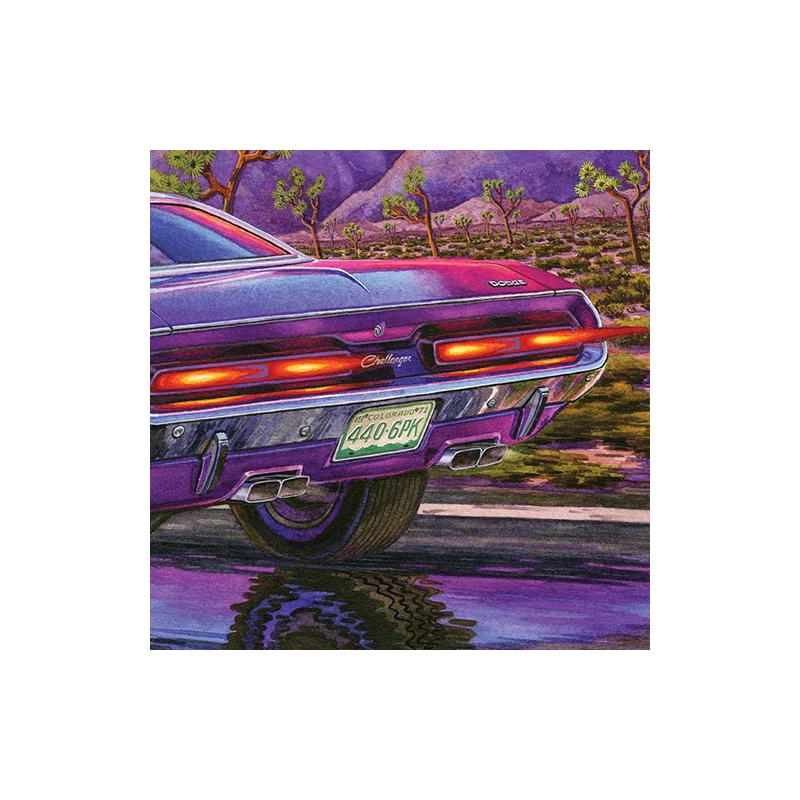 """Detail: Is that Colorado plate a nod to """"Vanishing Point""""?"""