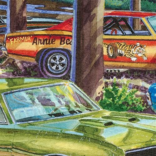 "Detail: Arnie ""The Farmer"" Beswick"