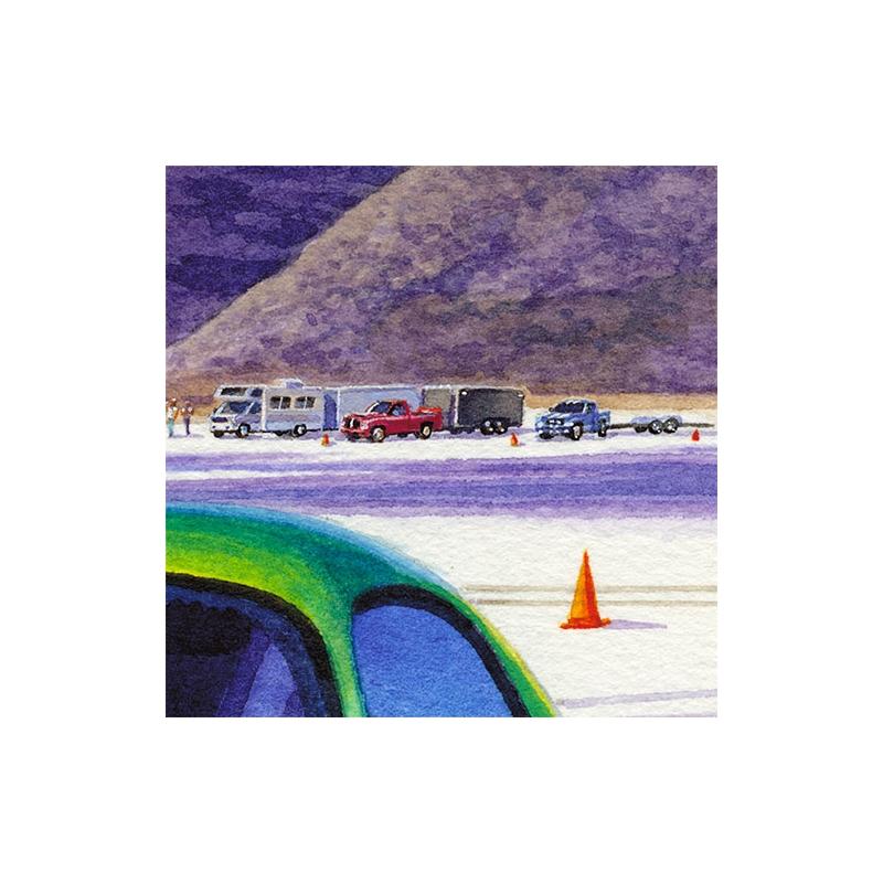 Details: Convoy of Dodge Viper trucks.