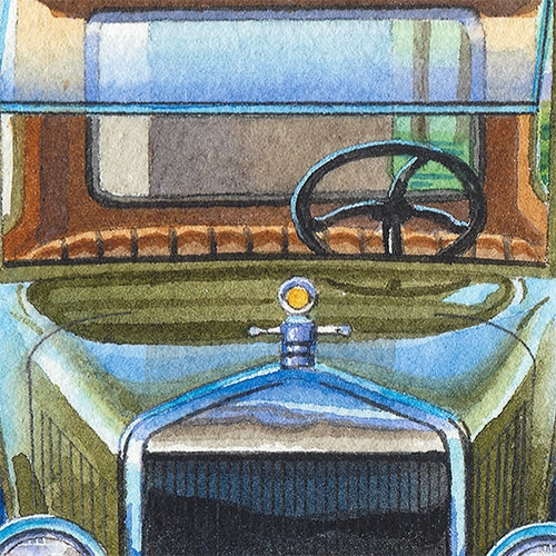Detail: 1927 Ford Model T
