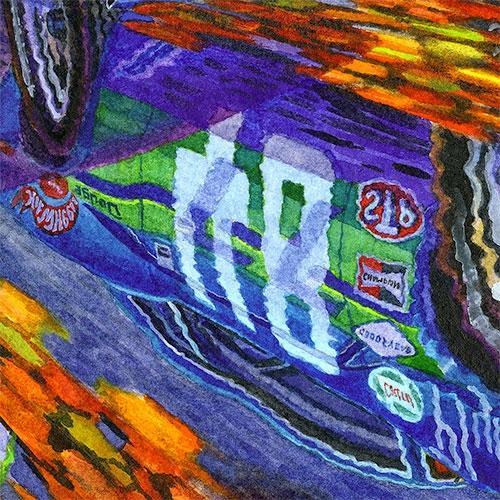 Details: Dan Gurney's #48 AAR Cuda