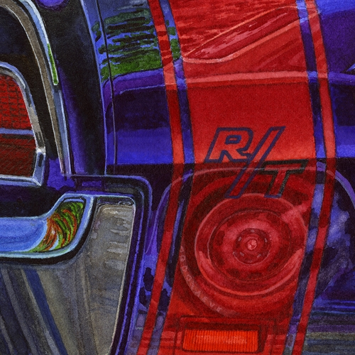Detail: Reflections Dodge vs Plymouth