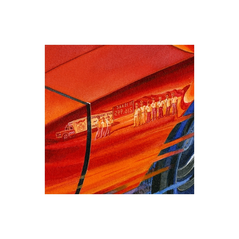 Details: 216.945 mph world land speed record reflection of Bobby Isaac's team