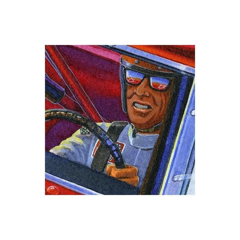 Details: Legendary driver Bobby Isaac piloting #71 Hemi powered Daytona at Bonneville Saltflats