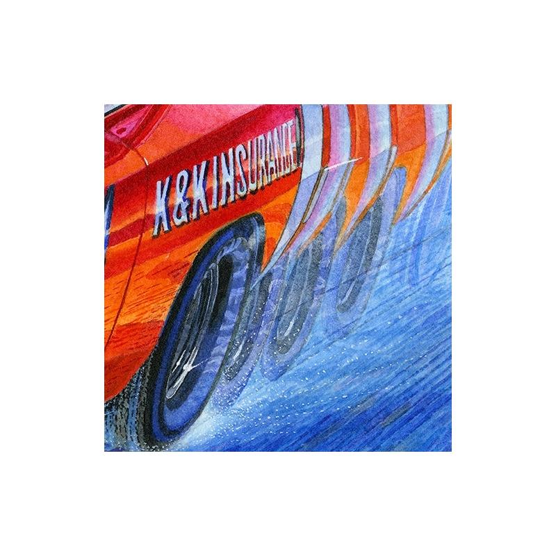 Details: Feel the power and the speed of the #71 K&K Insurance Dodge Daytona