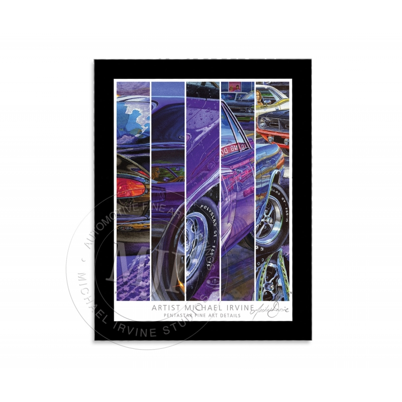 """PENTASTAR FINE ART DETAILS"" Signed Art Print with Mat (kit exclusive)"