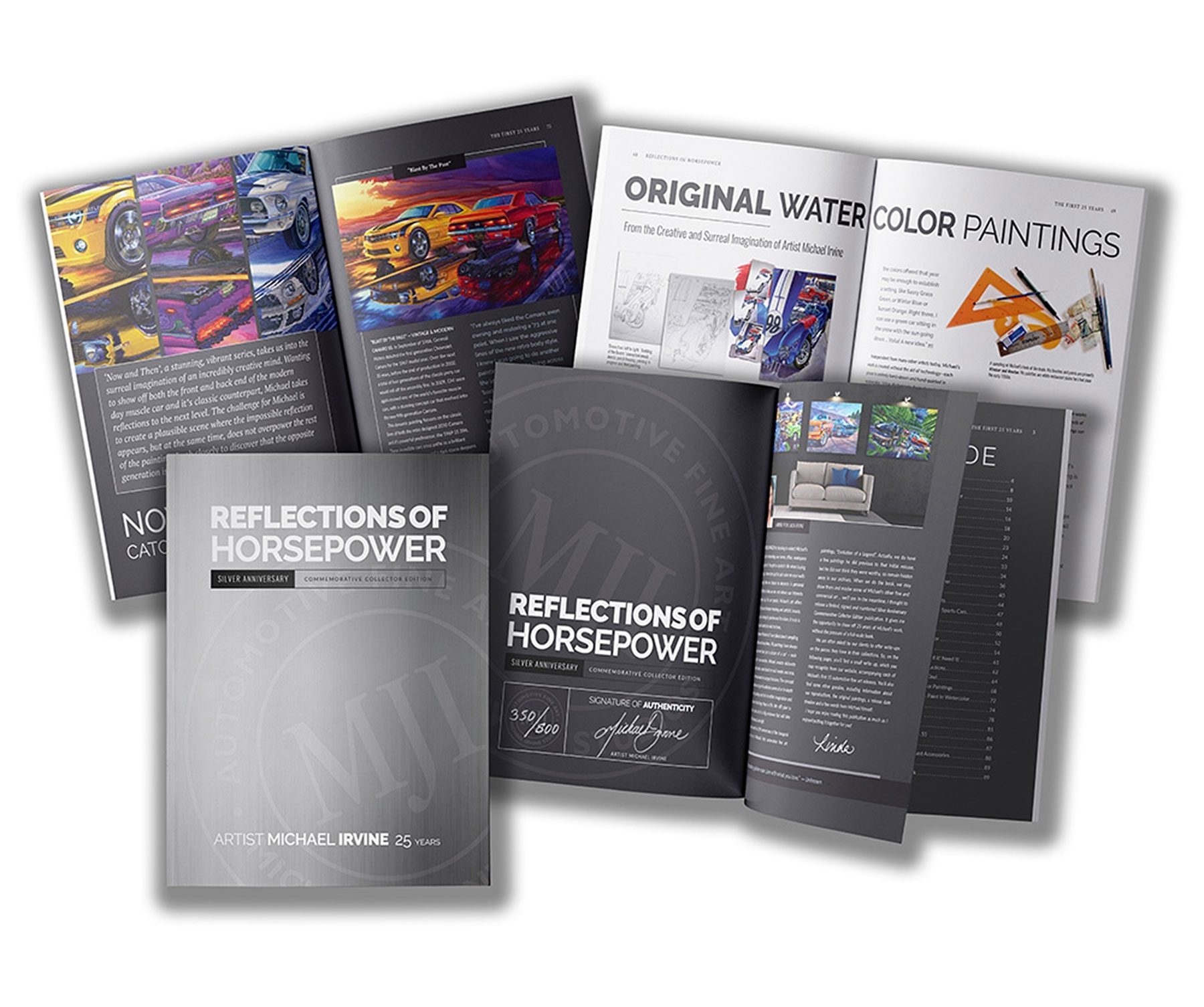 """""""REFLECTIONS OF HORSEPOWER Silver Anniversary 