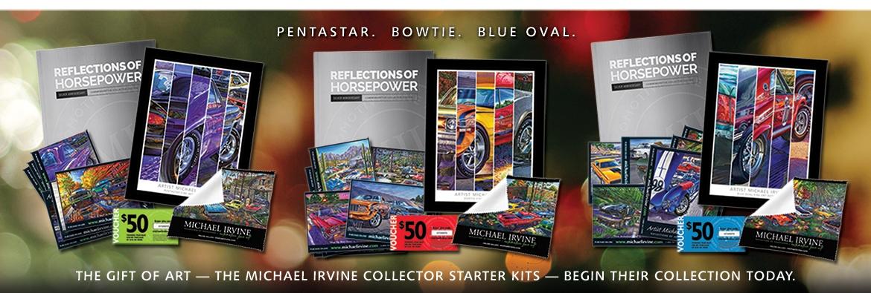 Artist Michael Irvine Starter Kits - Pentastar, Bowtie, Ford