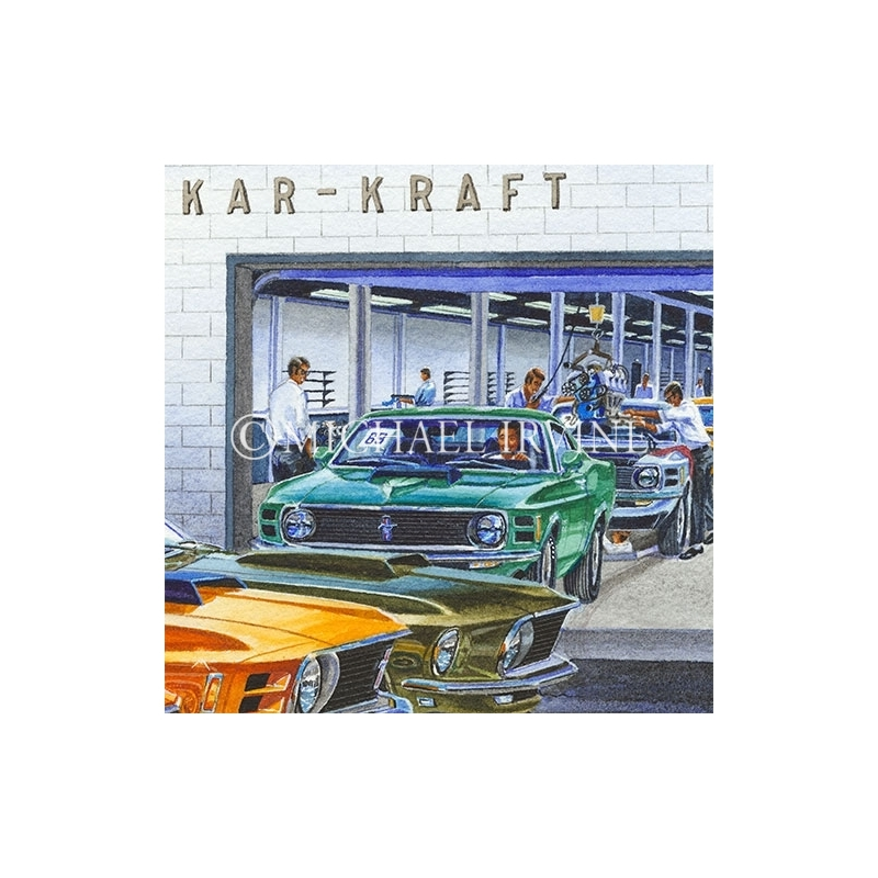 Details: Inside the Kar Kraft plant.