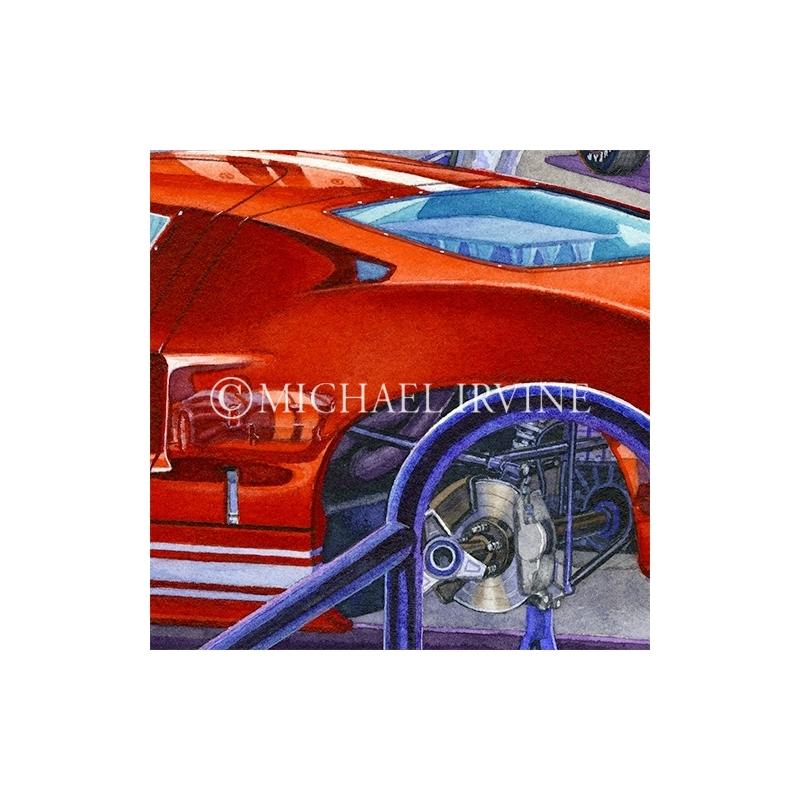 Details: GT40 - brake work finished!