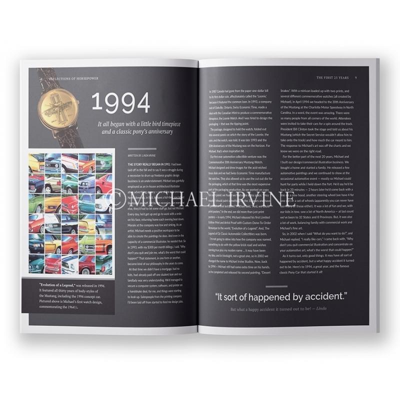 Read how Michael's muscle car art got its start and it's evolution. Ford, Mercury, Chevy, GM, Pontiac, Mopar, Chrysler & Dodge.