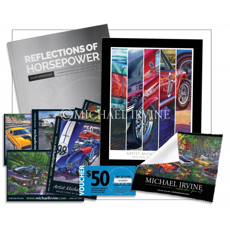 """The Michael Irvine Collector Starter Kit — """"BLUE OVAL"""""""