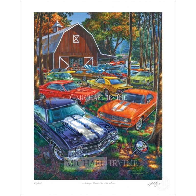 Limited Edition Print—signed/numbered by artist Michael Irvine